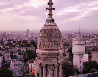 Top of Sacre Coeur, Paris, France, Wall Art, Fine Art Photography, Home Decor, Travel, color