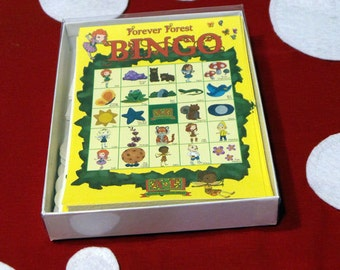 Forever Forest BINGO game - featuring the Fairies and Gnomes from Always and Forever Books!
