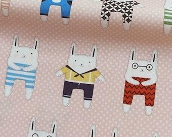 coupon Bunny Pink with polka dots