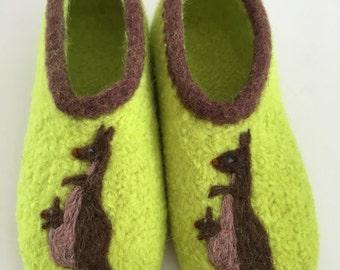 """Children felt shoes """"Kangaroo"""""""
