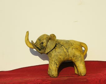 Old/Vintage African Pottery Elephant