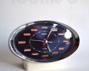 70s retro vintage space age Rhythm alarm clock