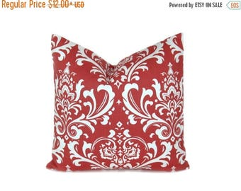 15% Off Sale Pillows Coral Pillow Cover Damask Pillow Cover  Throw Pillow covers Floral Pillow decorative Pillows Cushion pillow covers - Co