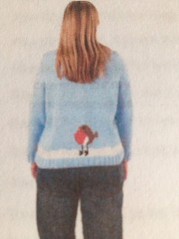 Adult Christmas Jumper Knitting Pattern