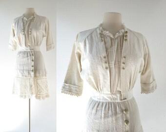 Vintage Edwardian Top | Neverland | 1910s Dress | Edwardian Jacket | XS