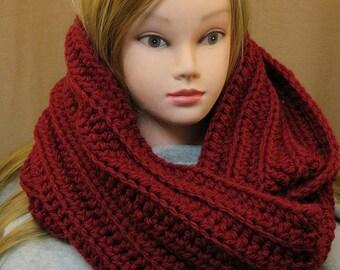 Chunky scarf/ crochet chunky scarf/ infinity scarf/ circle scarf/ crochet chunky cowl/ chunky cowl/ oversized crochet scarf/cowl/ long scarf