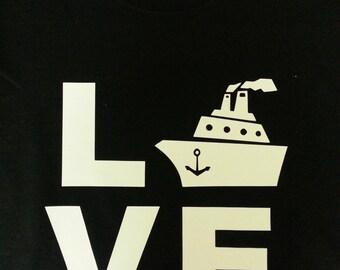 LOVE Cruising shirt