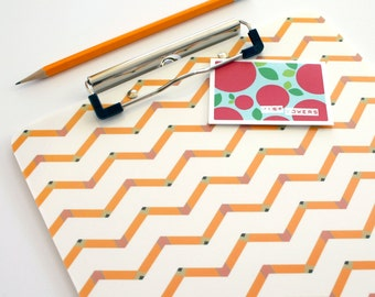 Personalized Teacher Gift Clipboard for Classroom Organization with Unique Teacher Gift Pencil Teacher Name Appreciation Modern Office