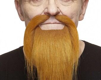 Shaolin Monk ginger beard, mustache and eyebrows (138-LB)