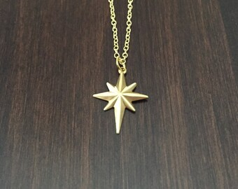 Gold star jewelry Etsy