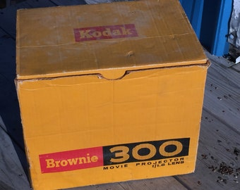 Vintage Kodak Brownie 300 Movie Projector