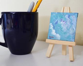Relax - Mini Painting - Desktop Painting