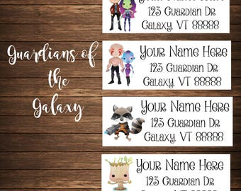 Galaxy Fighters Address Labels, Mailing Labels