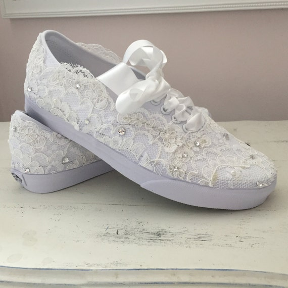Sparkly Wedding Tennis Shoes