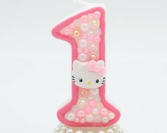 Hello kitty birthday candle / Hello kitty party candle / Hello kitty birthday / hello kitty party / hello kitty theme / hello kitty candles