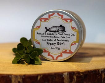 Gypsy Girl-All Natural Deodorant