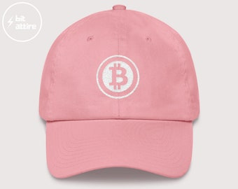 Dad Hat Cute Bitcoin Clothing Crypto Gift for her ladies