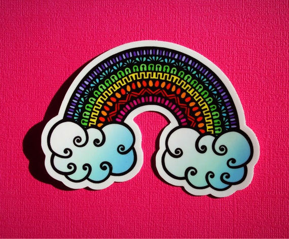 Rainbow Sticker (WATERPROOF)