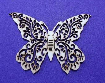 Butterfly, 1 piece, 8.5 x 12 cm (10-0020A)