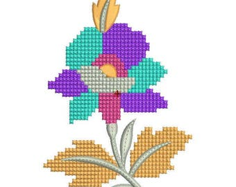 flower machine embroidery design,flower embroidery pattern- Cross Stitches Design,paadarclub
