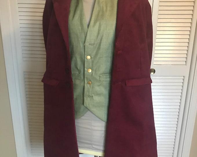 Bilbo Baggins The Hobbit Jacket and waistcoat costume
