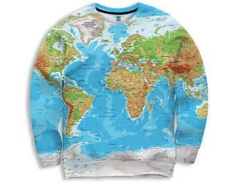 World map t shirt globe print all over print design geography t world map t shirt globe print all over print design geography t shirt gumiabroncs Images