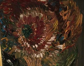 """Sunflower in the streams """" Floral, Garden , Original"""