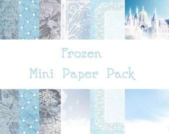 Frozen Mini Paper Pack