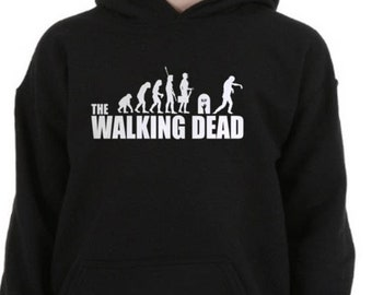 The Walking Dead Hoodie // Zombies Hoodie / Funny Hoodies / Mens Hoodies / Womens Hoodies / Walking Dead Clothing /