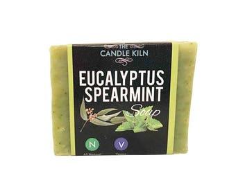 Eucalyptus Spearmint All-Natural PREMIUM Cold Process Soap