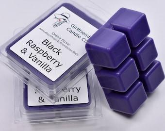 Black Raspberry Vanilla Scented Wax Melt
