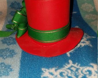 Red Foam Mini Top Hat