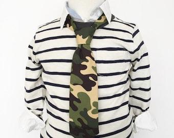 Camouflage Necktie   Boys
