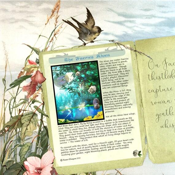 The Faeries Alven - Water Spirits