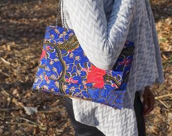 Ankara bag, ankara purse, african accessories, satchel bag, african print bag, african purse, african clutch bag