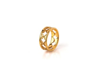 Camelia Ring Band
