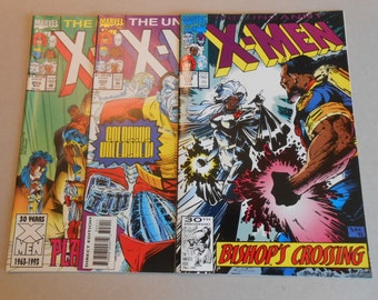 X-Men Uncanny; 1st Bishop; Lot 6 Comics; #283, #299, #302, #308, #309, #314; Gambit; Colossus, Emma Frost, Magneto, High Grade!