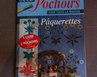 stencil deco stencils paquerettes1 magazine book two stencils