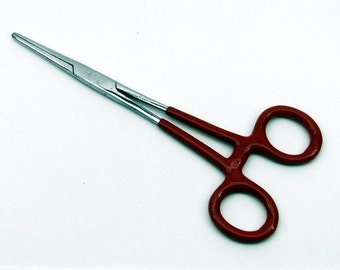 """Forceps with Insulated Handle 5.75"""" Straight"""