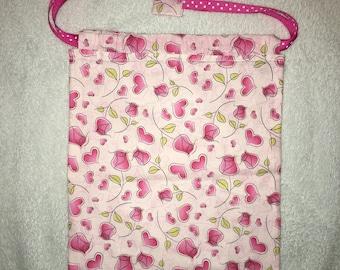 Draw string bag/satchel