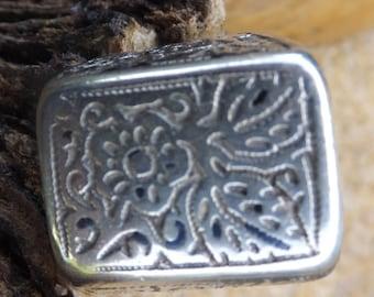 Turkmen Silver ...Ancient Turkmen Ring..... size 7 only