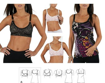Jalie 3131 - Bra and Camisole / 17 Sizes / Adult