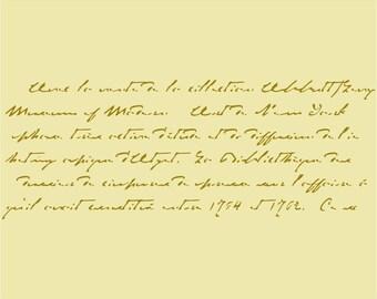 804 Old Script