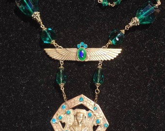 Vintage Egyptian Revival Necklace