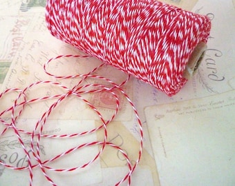 Bakers Twine - Bright Red - 10m