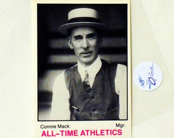 "Connie Mack Mgr. ""All-Time Athletics"""