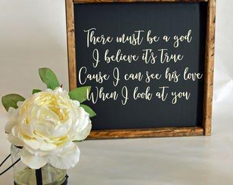 Wedding Gift or Nursery Sign