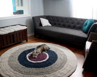The Round Rug - Crochet Pattern