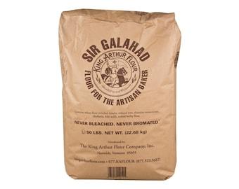 Sir Galahad Artisan Unbleached All Purpose Flour - NonGMO - Five Pounds