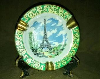 Vintage Limoges Eiffel Tower Ashtray
